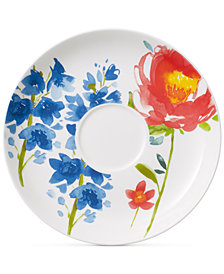 Villeroy & Boch Amnut Flowers Collection Bone China Breakfast Cup Saucer