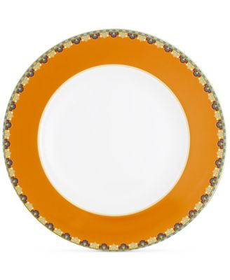Samarkand Mandarin Collection Porcelain Dinner Plate
