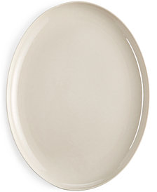 CLOSEOUT! Hotel Collection Modern Serveware Porcelain Bisque Oval Platter, Created for Macy's