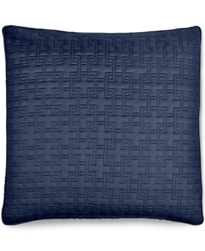 Hotel Collection Embroidered Frame Quilted European Sham Created for Macys Bedding