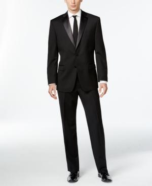 Calvin Klein Black Two-Button Modern-Fit Tuxedo