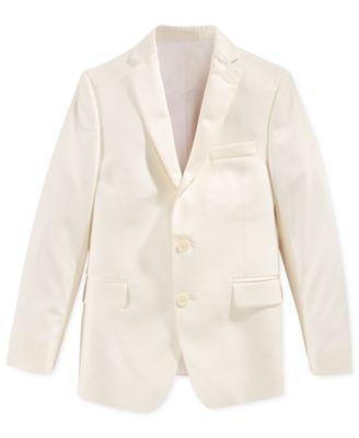 kids white blazer jackets