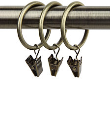"Rod Desyne Set of 10, 1-3/8"" ID  Rings with Clip"