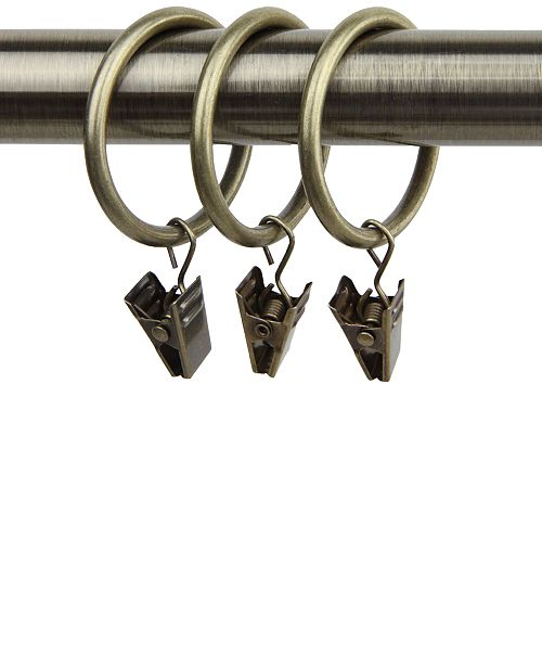 """Rod Desyne Set of 10, 1-3/8"""" ID  Rings with Clip"""