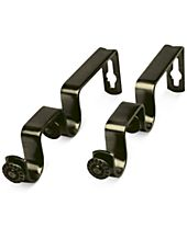 Rod Desyne Pair of Double Wall Brackets for 3/4'' Rod