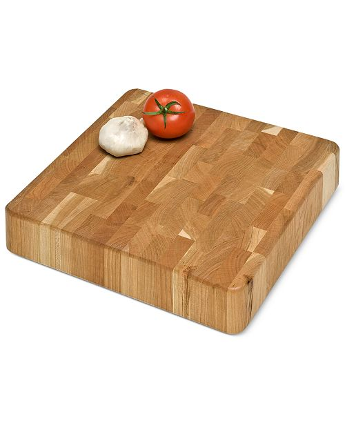 "JK Adams 12"" x 12"" End-Grain Chunk Board"