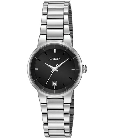 Citizen Women's Stainless Steel Bracelet Watch 27mm EU6010-53E