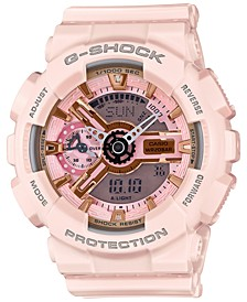 Women's Analog-Digital Light Pink Bracelet Watch 49x46mm GMAS110MP-4A1
