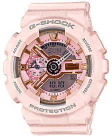 G-Shock Women's Analog-Digital Light Pink Bracelet Watch 49x46mm GMAS110MP-4A1