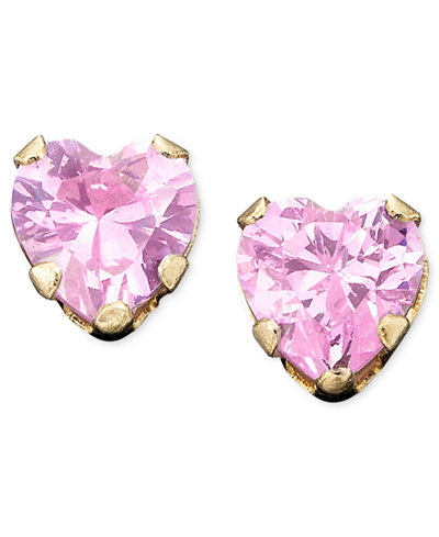 stud round neiman look earrings by cubic fantasia zirconia quick th deserio marcus mk