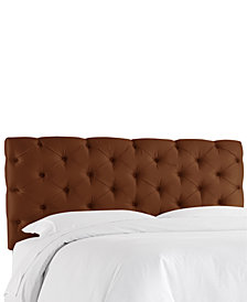Hyde Park Queen Horizontal Tufted Headboard, Quick Ship