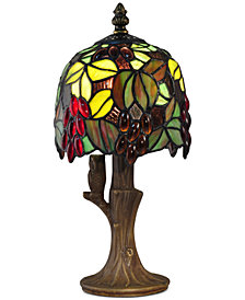 Dale Tiffany Grape Vine Accent Table Lamp