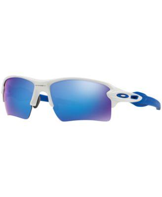 blue oakley sunglasses 3joz  Oakley Sunglasses, OO9188 FLAK 20 XL
