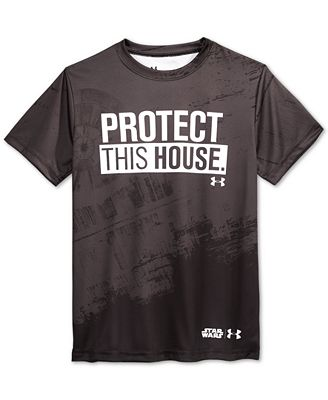 under armour shirts for boys. under armour boys\u0027 protect this house t-shirt shirts for boys