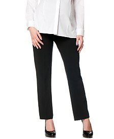Motherhood Maternity Petite Bootcut Stretch Dress Pants