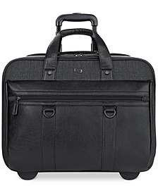 Bradford Rolling Laptop Briefcase