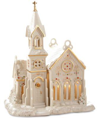 Mistletoe Park Village Church, Created for Macy's