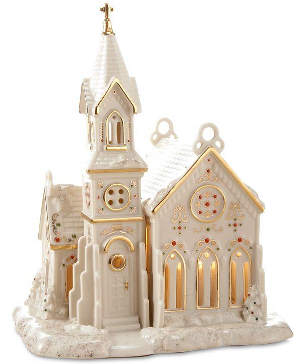 Lenox Mistletoe Park Village Church, Created for Macy's