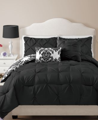 Chelsea Reversible 4-Pc. Twin Comforter Set