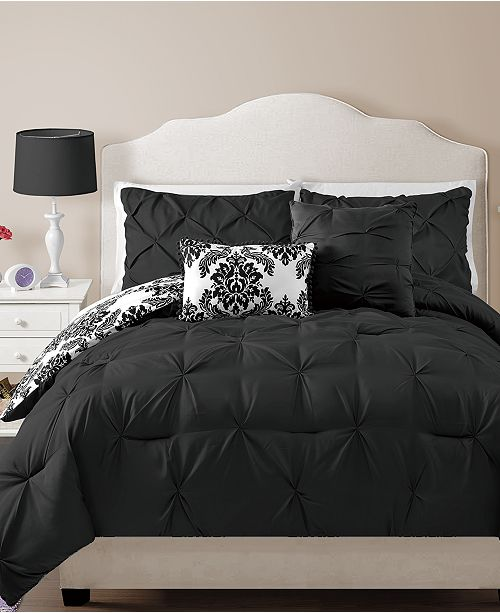 VCNY Home Chelsea Reversible 4-Pc. Twin Comforter Set