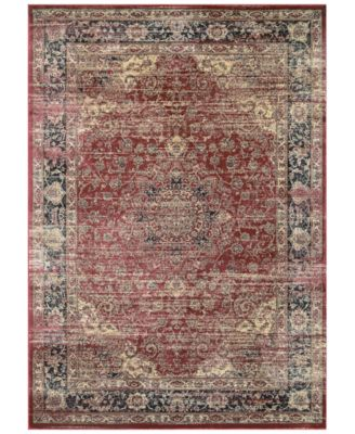 "CLOSEOUT! HARAZ HAR428 Red 2' x 3'7"" Area Rug"