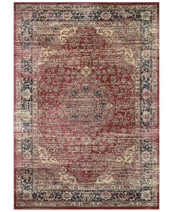 "Couristan CLOSEOUT! Haraz HAR428 Red 9'2"" x 12'5"" Area Rug"
