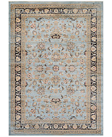 "CLOSEOUT! Couristan HARAZ HAR1443 Blue 9'2"" x 12'5"" Area Rug"