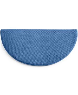 "Image of SensorGel Memory Foam 40"" Half Round Rug Bedding"