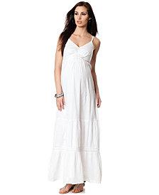 Seraphine Maternity Dress, Spaghetti Strap Lightweight