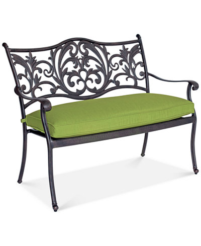 CLOSEOUT! Monrow Outdoor Bench, Created for Macy's