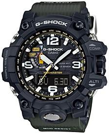 Men's Analog-Digital Mud Master Green Bracelet Watch 56x59mm GWG1000-1A3