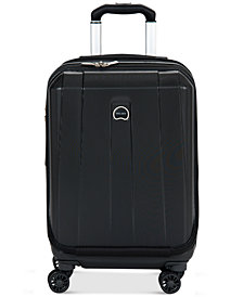 """CLOSEOUT! Delsey Helium Shadow 3.0 21"""" Carry-On Expandable Hardside Spinner Suitcase, In Blue, Created for Macy's"""