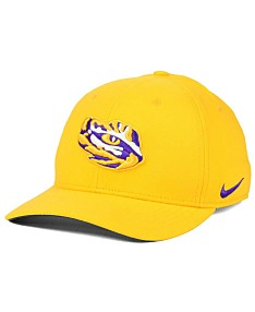 7fa01952117f Nike LSU Tigers Classic Swoosh Stretch Fitted Cap