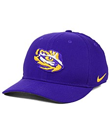 LSU Tigers Classic Swoosh Stretch Fitted Cap