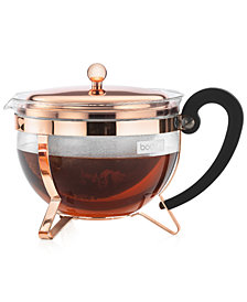 Bodum Chambord Classic Copper 44 Oz. Tea Pot