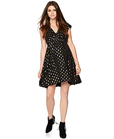 Collective Concepts Maternity Dot-Print Dress