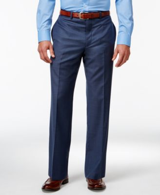 Blue Big and Tall Modern Fit Pants