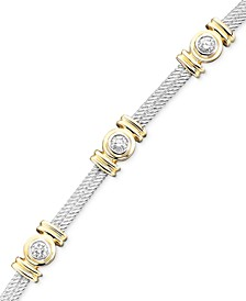 Diamond Bracelet in Two-Tone 14k Gold (1 ct. t.w.)