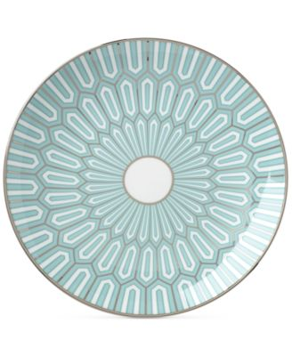 Brian Gluckstein by Clara Aqua Bone China Accent Plate