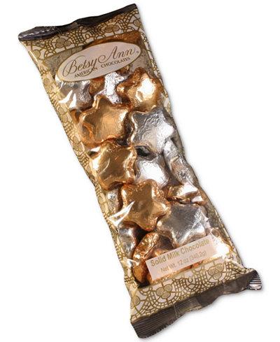 Betsy Ann Chocolates 12oz Foil Stars