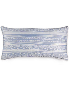 "CLOSEOUT! bluebellgray Maisie 12"" x 24"" Decorative Pillow"