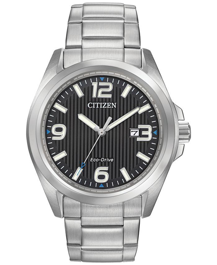Citizen - Women's Eco-Drive Stainless Steel Bracelet Watch 43mm AW1430-86E