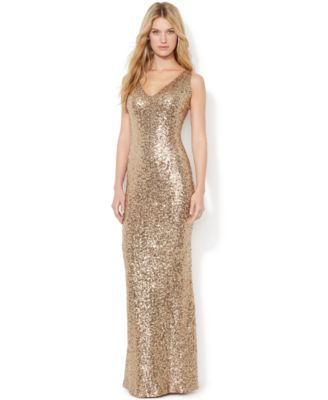 Gold Dresses for Women - Macy's