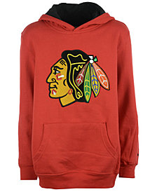 Reebok NHL Chicago Blackhawks Prime Logo Hoodie, Little Boys (4-7)