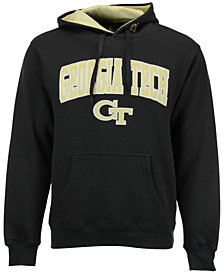 Colosseum Men's Georgia Tech Yellow Jackets Arch Logo Hoodie