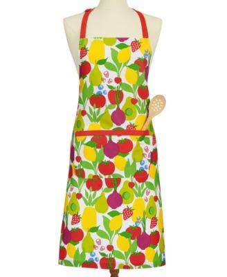 Martha Stewart Collection Fresh Flavors Apron, Created For Macyu0027s