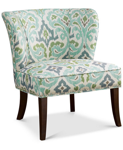 Janie Armless Accent Chair Quick Ship Furniture Macy S