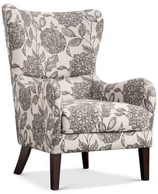 Coris Wing Chair Quick Ship Furniture Macy S