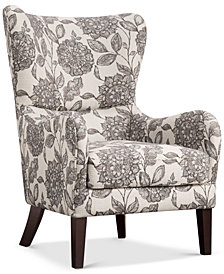 Coris Wing Chair, Quick Ship