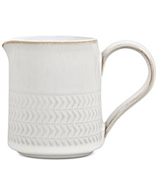 Denby Natural Canvas Stoneware Textured  Small Jug